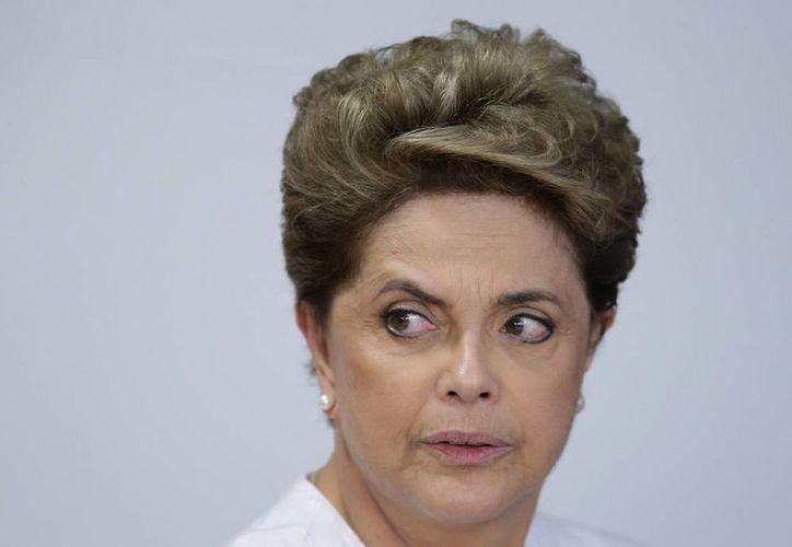 El Congreso y la cámara de diputados de Brasil votará si la presidenta Dilma Rousseff es sometida a juicio político. (AP)