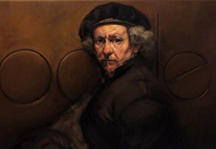 Imagen del doodle en honor a Rembrandt. Obras del pintor se expondrán en Mérida. (SIPSE)