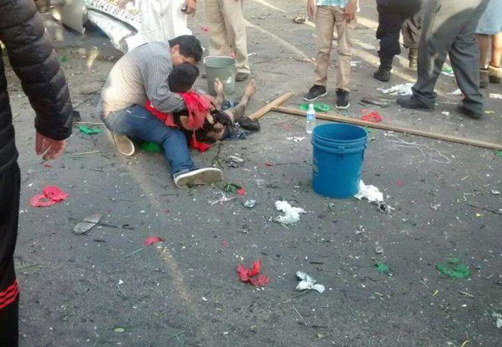 El estallido dejó dos muertos y cuatro heridos. (twitter.com/Impactoinfsur)