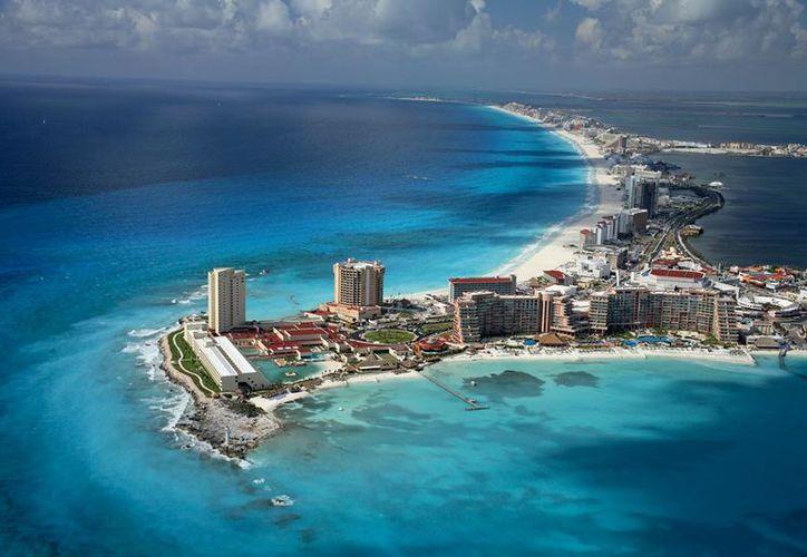 Cancún entre los favoritos de los turistas en México y el mundo. (Sectur).