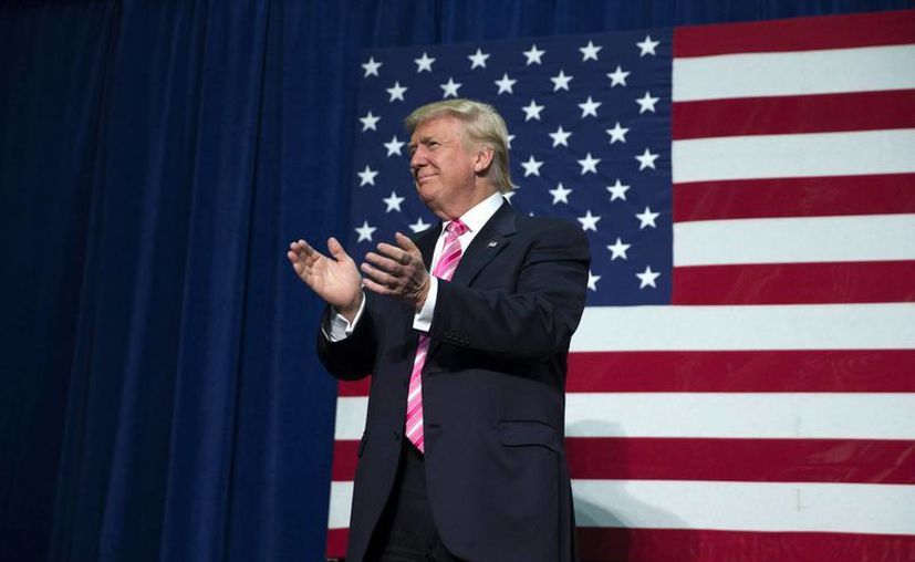 Donald Trump ha calificado a los inmigrantes procedentes de México de 'violadores' y responsables del tráfico de droga. (Archivo/EFE)