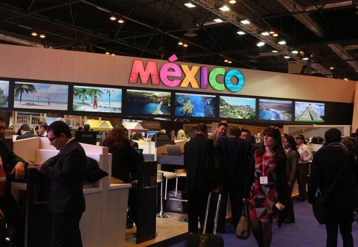 Durante el segundo día de la Fitur se dio a conocer que el mercado español en el Caribe mexicano creció 10% entre 2014 y 2015. (Adrián Barreto/SIPSE)