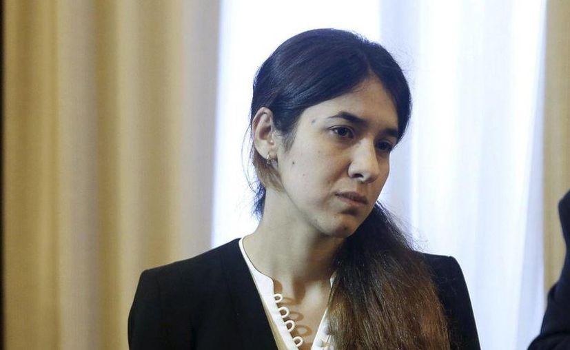 Nadia Murad es una de las más de cinco mil mujeres yazidí que han sido secuestradas por el Estado Islámico. (Reuters)