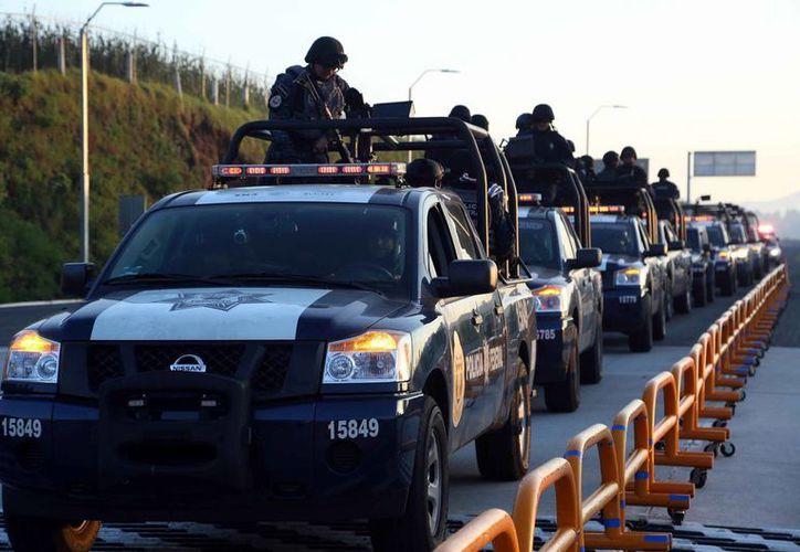 La Policía Federal reforzará la seguridad del tramo carretero Valles-Mante en Tamaulipas. (Archivo/Notimex)