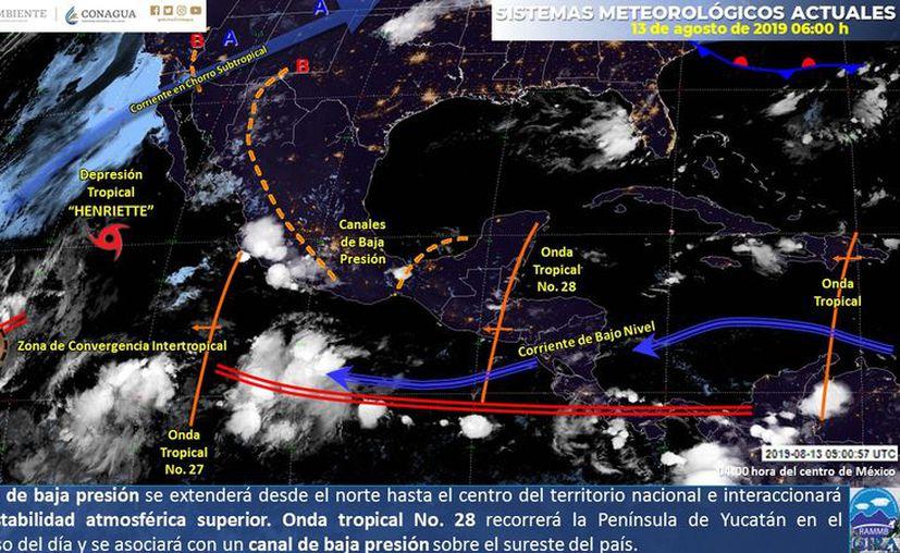 Para hoy no se esperan lluvias para Quintana Roo. (Servicio Meteorológico Nacional)