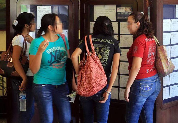 Un estudio revela que en carreras universitarias afines a la industria de las tecnologías de información (TI) dos de cada 10 estudiantes son mujeres. (Milenio Novedades)