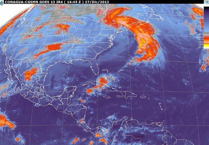 Soplarán vientos del norte de 30 a 50 km/h. (smn.cna.gob.mx)