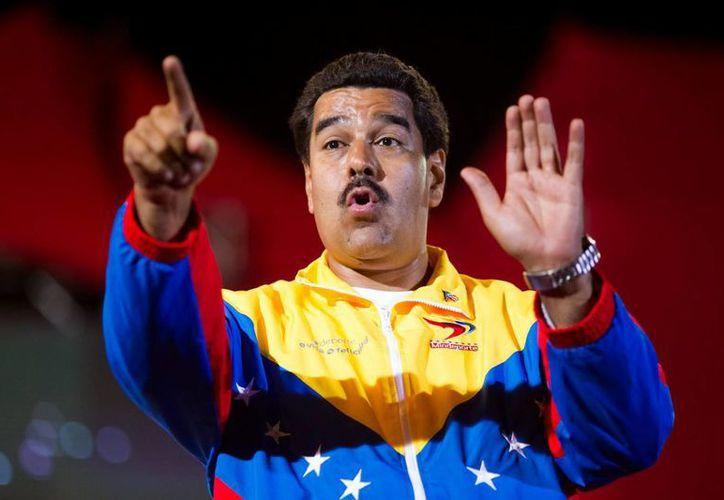 """""""Hay que defender la sociedad de estos bandidos"""", dijo el presidente de Venezuela, Nicolás Maduro, en referencia a la prensa que publica lo que a él no le parece. (Archivo/EFE)"""