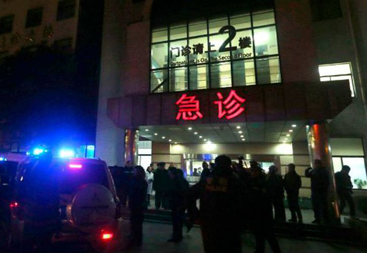 Una estampida en China dejó saldo de al menos 35 muertos. (Milenio Digital)