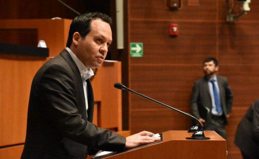 El coordinador nacional de MC, el senador Clemente Castañeda Hoeflich. (Foto: Twitter).