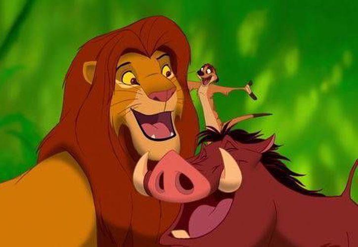 Luego del éxito que Disney obtuvo con las nuevas versiones de 'El Libro de la Selva' y 'La Bella Durmiente', el estudio cinematográfico prepara ahora una película en acción real sobre 'El Rey León'.(Disney)