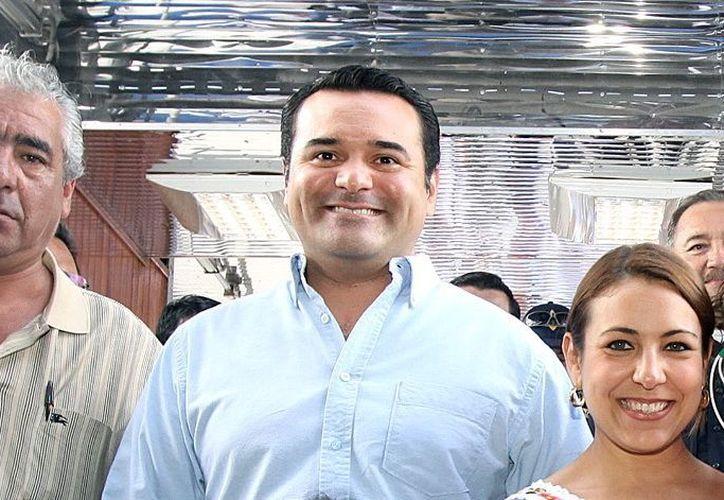 Renán Barrera asegura tener una buena relación con todos los regidores. (Milenio Novedades)