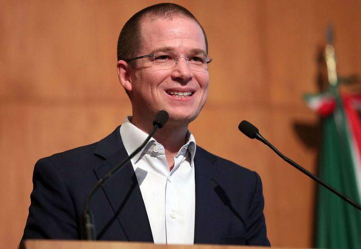 El dirigente del PAN anunció que buscará la presidencia en 2018. (Foto: Megalópolis)
