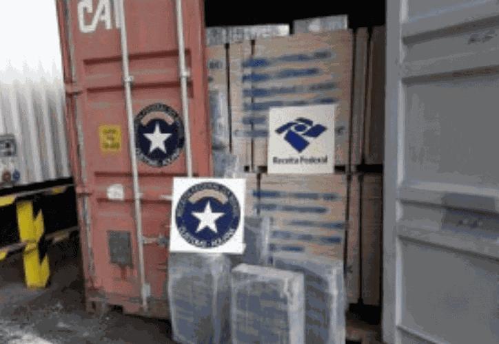 La drogaba estaba oculta en sacos, dentro de unos barcos con destino a Europa. (Internet)
