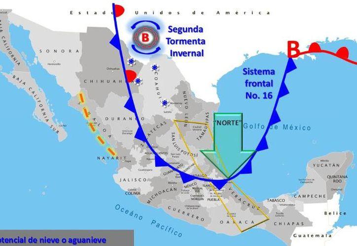 Prevén vientos de 14 kilómetros por hora en Chetumal. (Intellicast)