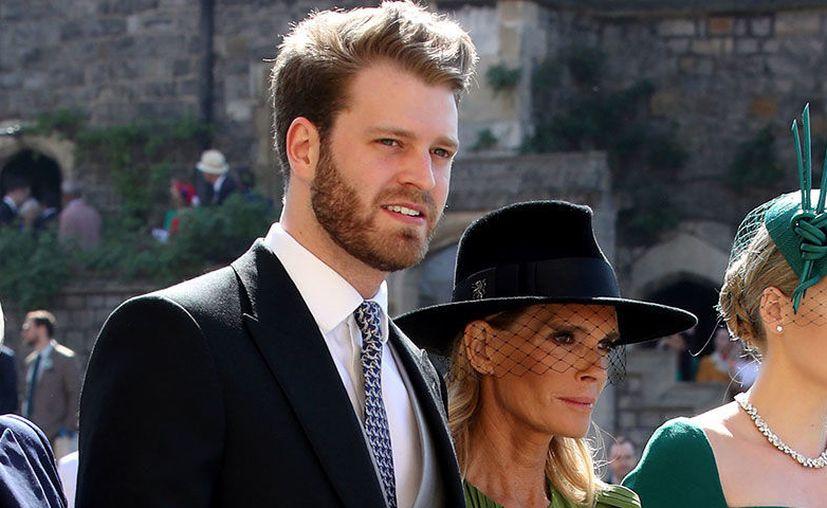 Su popularidad creció al saber que se trata de Louis Spencer, primo del Príncipe Harry y el Príncipe William. (SIPSE)