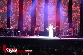 Concierto de Luz Casal en Cancún
