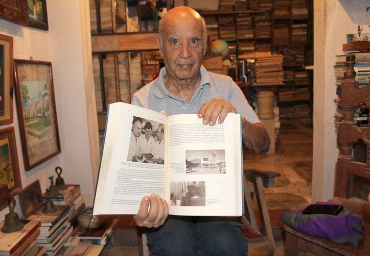 El 16 de septiembre de 1960 hizo su primer viaje a la ciudad de México.