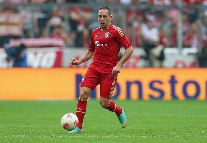 Con una máquina de la NASA, Franck Ribery se recupera de una lesión que lo ha mantenido más de seis meses sin jugar con Bayern Munich. (goal.com)