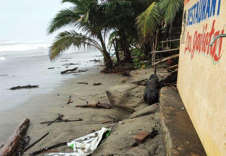 Frente a las costas de Oaxaca se ubica una baja presión con un 20 por ciento de probabilidad de desarrollo ciclónico. (Archivo/Notimex)