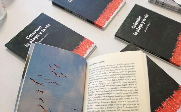 El autor optó por compartir sus experiencias como biólogo que se dedicó a investigar la vida de los flamencos que abundan en esa reserva. (Javier Ortiz/SIPSE)