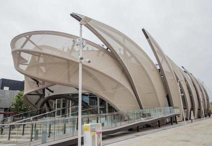 El presidente Peña Nieto visitó el Pabellón de México en la  Expo Milán en Italia. (@PresidenciaMX)
