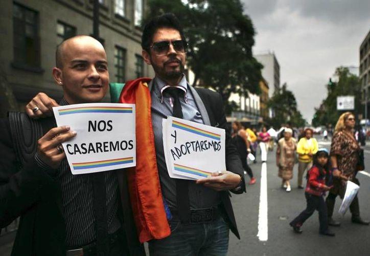 La iniciativa que impulsaba el matrimonio igualitario fue desechada por los diputados el pasado miércoles. (Archivo/ AP)