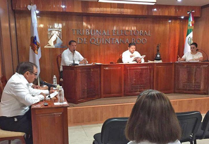 """El presidente del Teqroo dijo que recibieron un """"histórico presupuesto"""". (Jesús Tijerina/SIPSE)"""