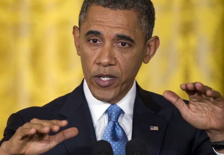 Obama no ha cumplido su promesa de cerrar la base militar de Guantánamo, usada desde hace 11 años para mantener recluidos a sospechosos de terrorismo. (Agencias)