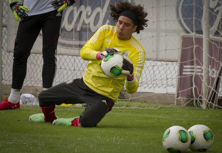 Entrenamiento de la Selección Mexicana en el Centro de Alto Rendimiento, rumbo al partido ante Costa Rica. (Notimex)