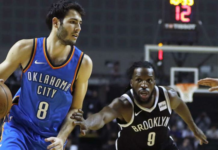 Thunder de Oklahoma City gana 109-108 ante Nets de Brooklyn, en juego de temporada regular. (Contexto/Internet)