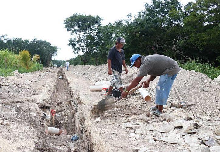Se dotó a una colonia de Cozumel con el sistema de alcantarillado y red sanitaria. (Redacción/SIPSE)