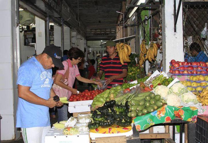 El mercado Andrés Quintana Roo, ubicado en la colonia Jardines, es el que lleva más avance en la propuesta emitida. (Ángel castilla/SIPSE)