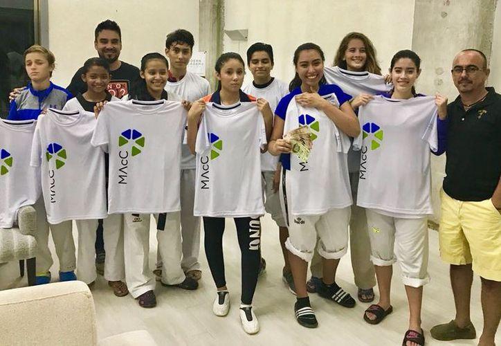 Fue presentada  la selección Pil Sung Modern Academy Cancún. (Raúl Caballero/SIPSE)