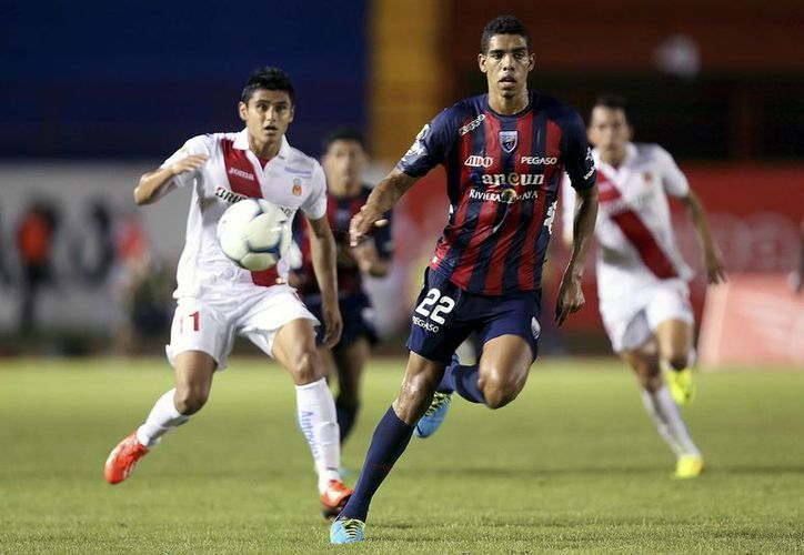El defensa Carlos Andrés Calvo BeristaIn podría ver concluir su ciclo con Atlante, equipo con el que debutó en Primera División. (Redacción/SIPSE)