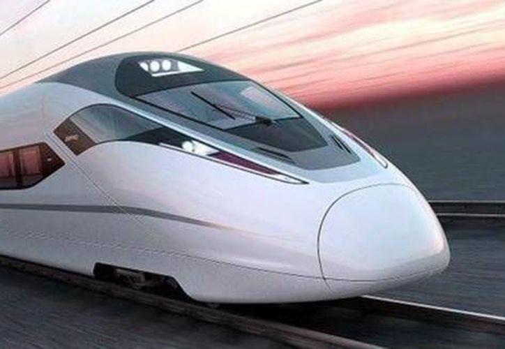 El Tren de Alta Velocidad México-Querétaro será la primera parte de un proyecto que pretende conectar a todo el país. (Archivo/SIPSE)
