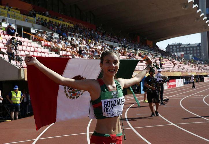 Logro histórico de la atleta mexicana en mundial. (Foto: Reuters)