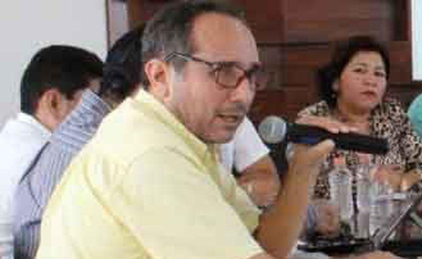 Juan Carlos Beristain Navarrete funge como encargado de la Comisión de Hacienda, Patrimonio y Cuenta Pública del municipio. (Cortesía)