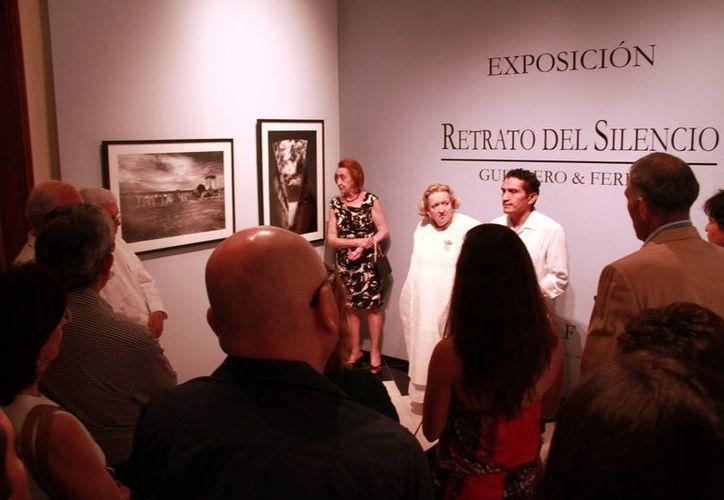 La muestra 'Retrato del Silencio',  de los artistas visuales José Manuel Guerrero y Javier Ferrer, permanecerá abierta al público hasta el 15 de noviembre. (Jorge Acosta/Milenio Novedades)