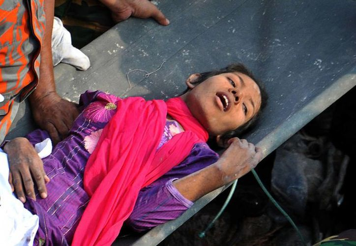 Reshma dijo que sobrevivió gracias a que tenía cerca alimentos y agua. (Agencias)