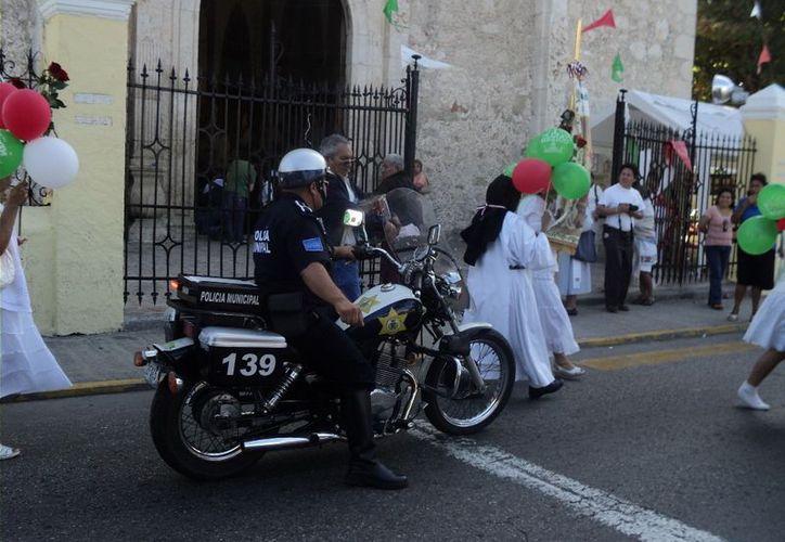 Operativo de seguridad comenzará mañana por fiesta religiosa. (Milenio Novedades)