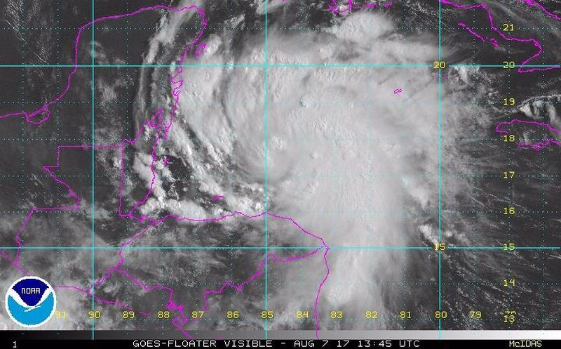 "Implementan Plan DN-III en Quintana Roo por tormenta 'Franklin'"""