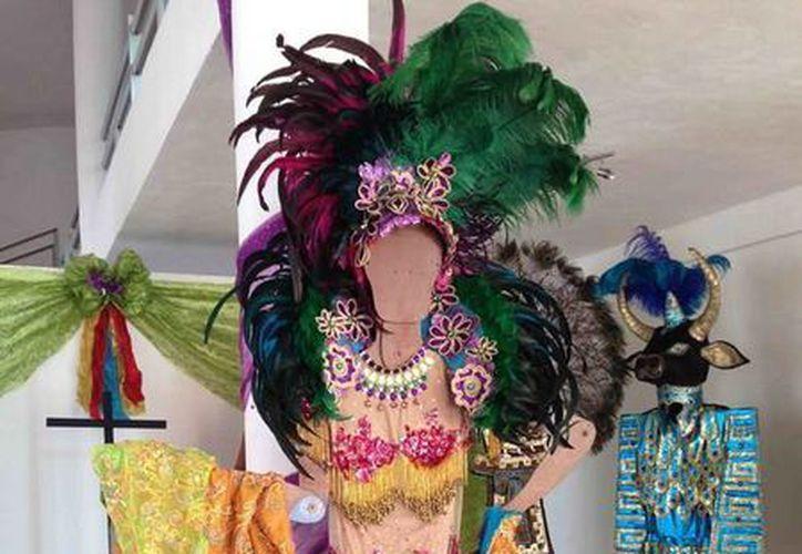 """La exposición """"Noches de disfraces"""" será presentada en la Casa de la Cultura Ixchel. (Redacción/SIPSE)"""