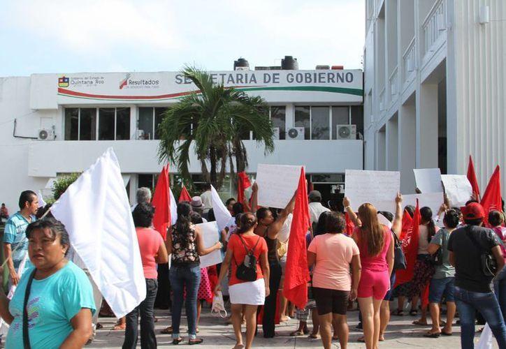 Quintana Roo se sumará a la marcha que realizaran el próximo 5 de septiembre en el centro del país. (Carlos Horta/ SIPSE)