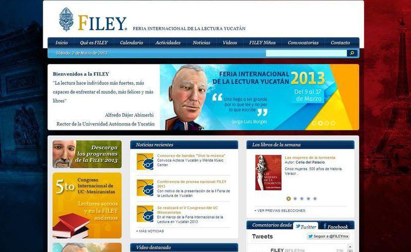 En la página web del evento puede encontrarse variedad de material multimedia. (Captura de pantalla)