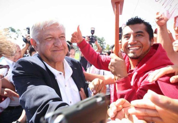El candidato de Morena quiere una reunión con el presidente Enrique Peña Nieto. (Foto: Milenio)