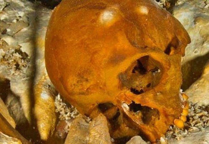 El cadáver descubierto en Tulum corresponde a una joven de 15 o 16 años de edad, proveniente de Siberia. (Foto: @inah_mx)