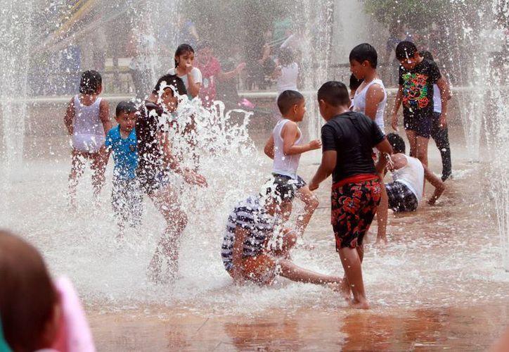 En Mérida se registró una temperatura máxima de 31.2 grados este domingo. (Jorge Acosta/SIPSE)