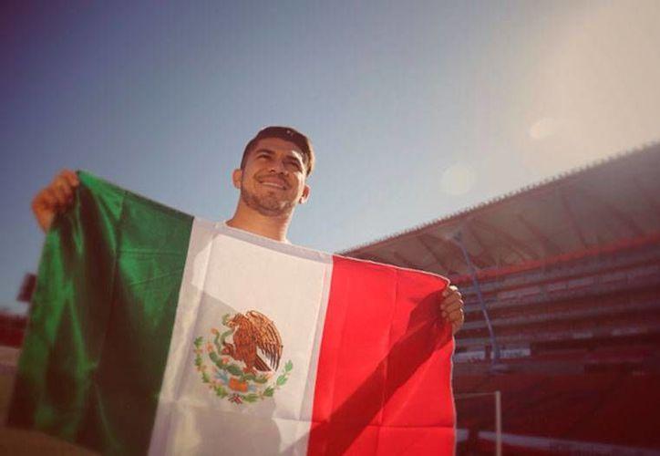 A Henry Martin Mex le sorprendió que 'Tuca' Ferreti lo llamara a la Selección Mexicana, en sustitución de Oribe Peralta, quien se reportó lesionado. (xolos.com.mx)