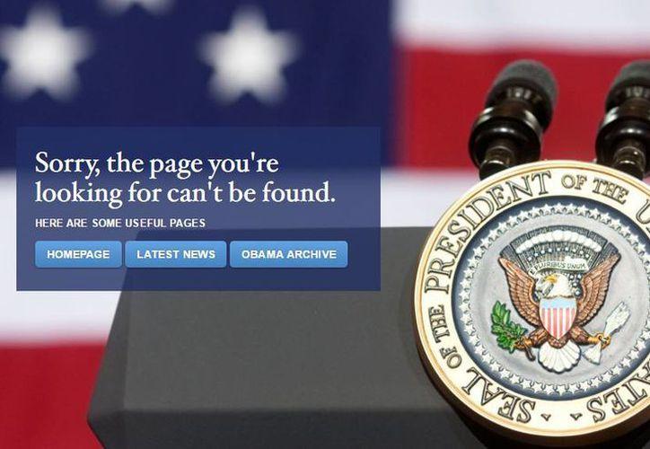 Apenas tomó el poder Trump, la sección en español de la página de la Casa Blanca fue suprimida. (The White House)